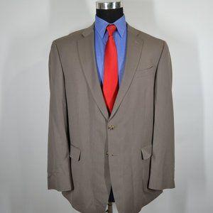 Kenneth Cole 43R Sport Coat Blazer Suit Jacket Gra